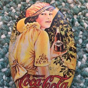 Other - Vtg coke coca-cola tin storage trinket box